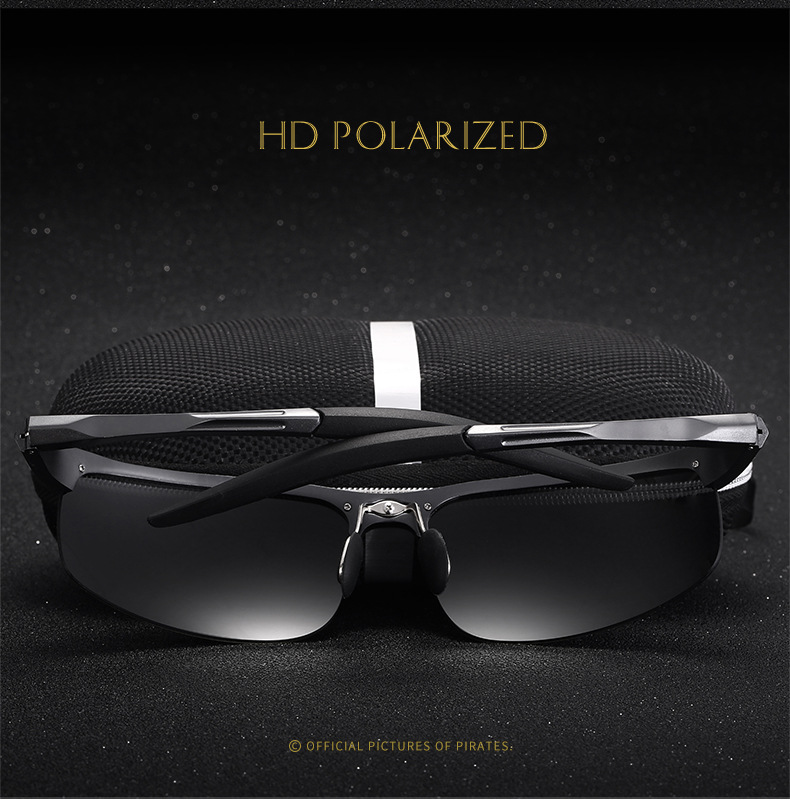 Bruno Dunn Driving polarized Men sunglasses 2020 sports High Quality UV400 Aluminum sun glasses for male oculos de sol masculino 3