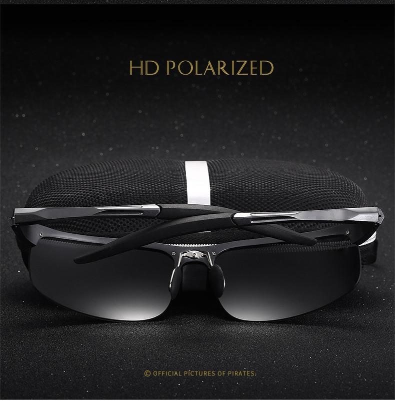 Bruno Dunn Driving polarized Men sunglasses 2020 sports High Quality UV400 Aluminum sun glasses for male oculos de sol masculino 3