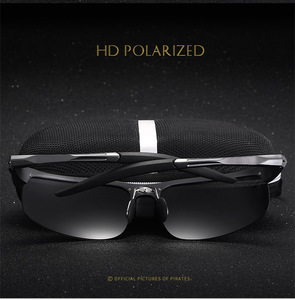 Image 3 - Bruno Dunn gafas de sol polarizadas para hombre, lentes de sol deportivas de alta calidad, de aluminio, UV400, 2020