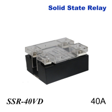 40A SSR,input DC 0-10V single phase ssr solid state relay voltage regulator ssr 40 da 40a solid state relay isolation between the input output voltage 2500 v