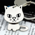 cat keychain cute key ring for women kitten key chain key holder high quality llaveros chaveiro portachiavi