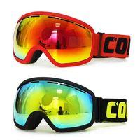 Brand Copozz Double Anti Fog Ski Goggles Snow Goggles Men Women UV400 Big Frame Mask Outdoor