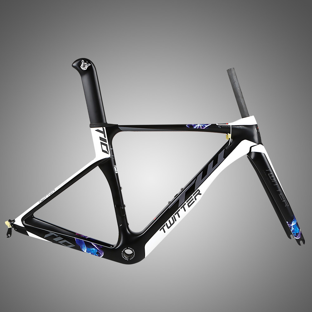 TWITTER T10 T900 Carbon Fiber Bike Frame Matte/Glossy Road Racing ...