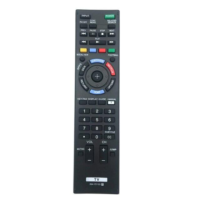 RM YD103 Afstandsbediening Voor SONY Bravia LED HDTV KDL 32W700B 40W580B 40W590B 40W600B 42W700B XBR 55X800B KDL60W630B2