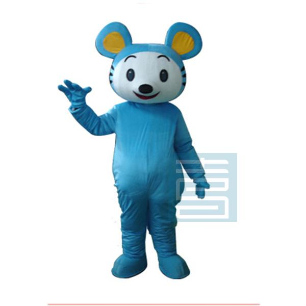 Souris Mascotte Costume belle souris bleue drôle mascottes Cosplay thème Mascotte carnaval Costume Halloween fantaisie fête robe