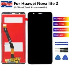 5.65 بوصة لهواوي نوفا لايت 2 شاشة الكريستال السائل مجموعة المحولات الرقمية لشاشة تعمل بلمس LCD استبدال لهواوي نوفا lite2 FIG LA1 lcd