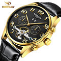 Automatic Self-Wind Perpetual Calendar men Military clock men's mechanical watches luxury quality business watch relojes hombre