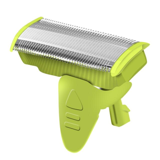 Chj oneblade barbeador elétrico recarregável usb navalha de barbear leve máquina lâmina super fina aparador barbear barbeador