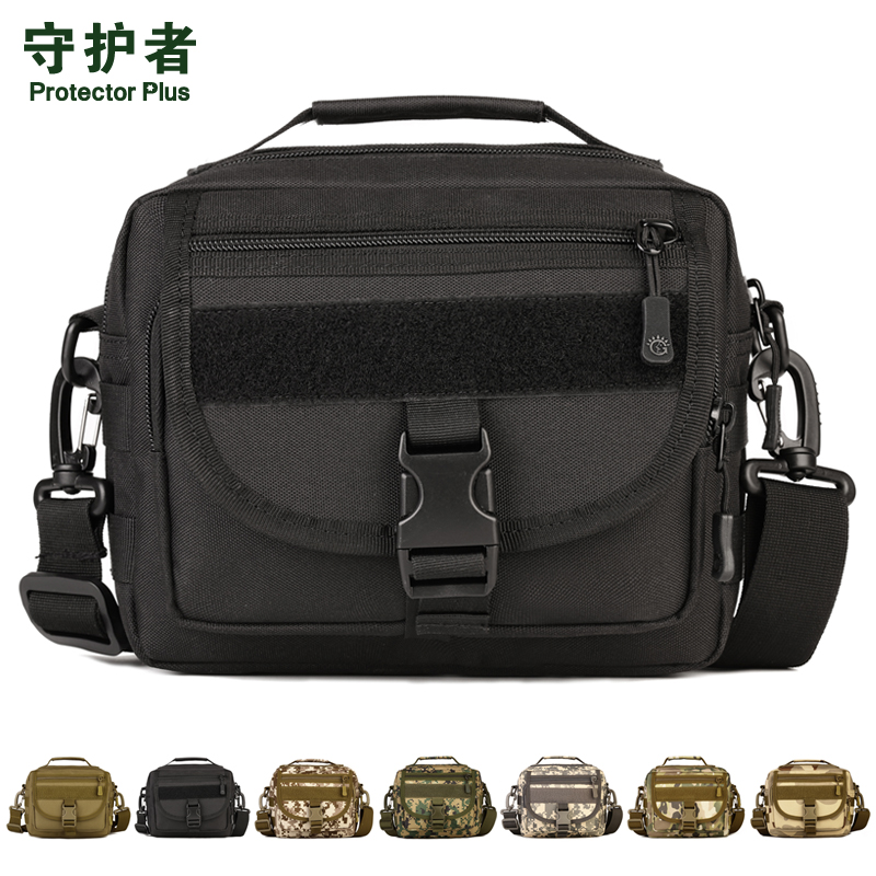Tactical Military Assault Bag Pack MOLLE Small Pockets Man Waterproof Nylon Crossbody Bag Men Hiking Handbag Messenger Bag