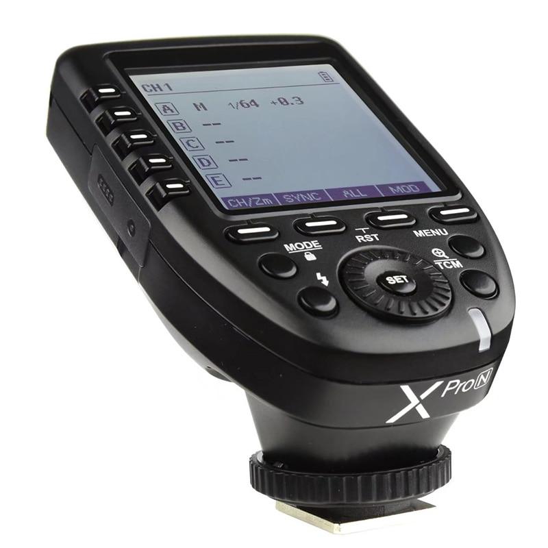 Image 3 - Godox Xpro N i TTL II 2,4G беспроводной триггер Высокоскоростная синхронизация 1/8000s X система с ЖК экраном передатчик для Nikon DSLRПульты и триггеры    АлиЭкспресс