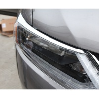 High Quality ABS Car Lights Eyebrow Decoration Stickers Suitable For Nissan X Trail X Trail T32