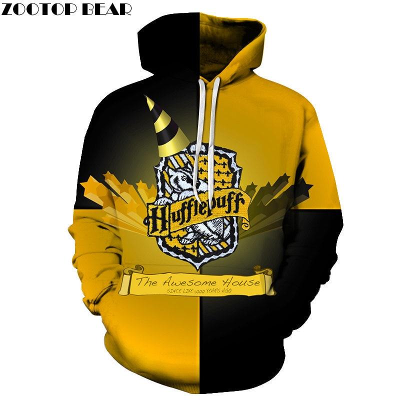 Awesome House 3D Printed Brand Casual Hoody Sweatshirt Men Tracksuit Hoodie Pullover Streetwear Coat Unisex DropShip ZOOTOPBEAR