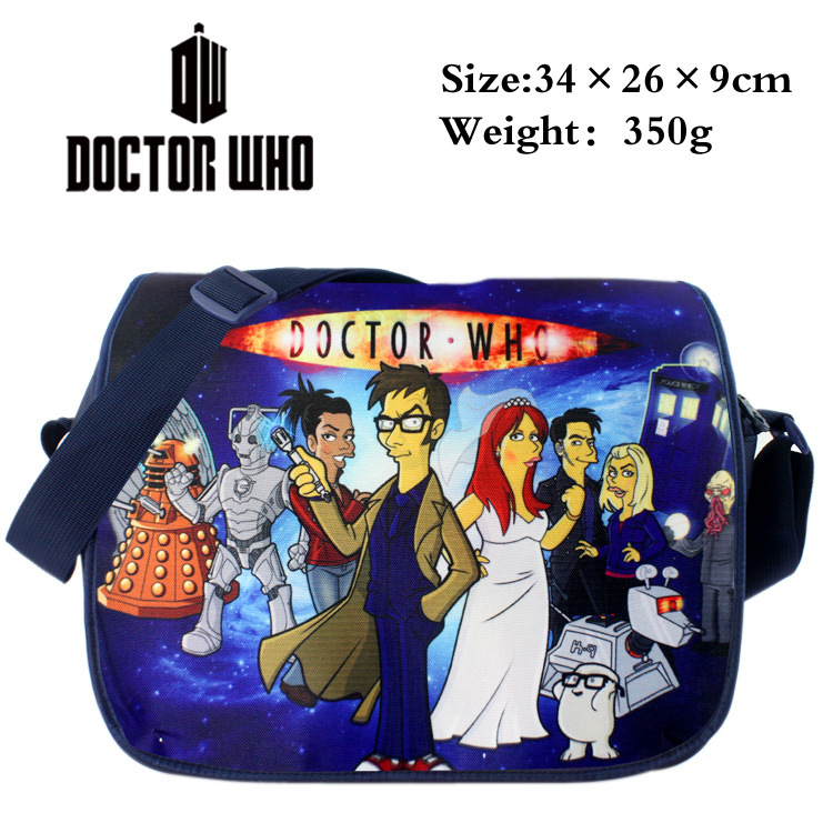 Nero Sacchetto Sacchetti Doctor blu oro Il azzurro Scuola Ragazzi grigio 2019 Bambini Anime Scuro brown Gli grey Cielo Gilrs Tela Messenger Studenti Bag Di Who radura Adolescente Per 5UWXwZHq