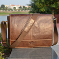 High Grade Brand REAL Genuine Leather men bag Vintage fashion shoulder bag Casual men messenger bags Business briefcase