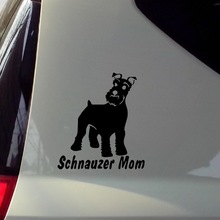 Waterproof Car Sticker High Quality motorcycle Stickers Decals Schnauzer Car styling Car Accessories Reflective