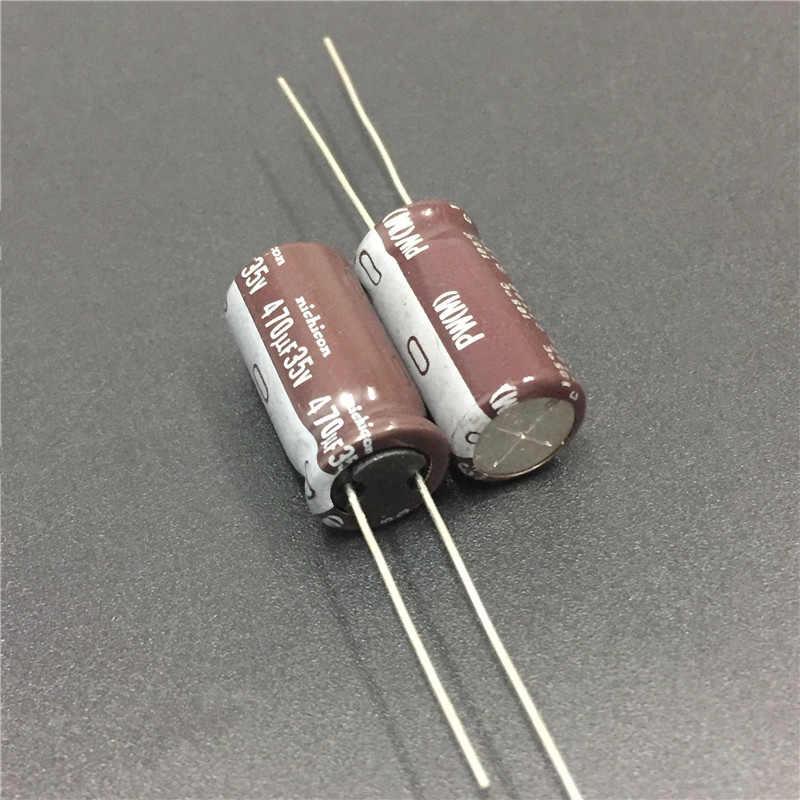 10//50Pcs 470uF 35V NIC NRSZ 10X20mm 35V470uF Low Impedance Long Life Capacitor