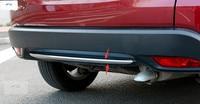 Exterior For Honda HRV HR V Vezel 2014 2015 2016 2017 Front Rear Lower Bumper ABS Chrome Trim Cover Molding 2 pcs / set
