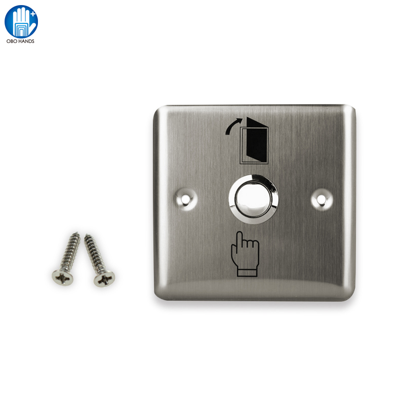 Billet Touch Stainless Steel Door Exit Button To Access Control System With NO/COM meziere wp101b sbc billet elec w p