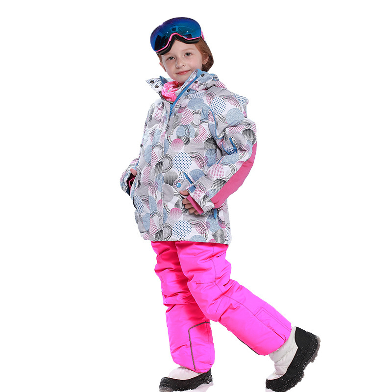 2019 New Children Ski Suit Winter Windproof Hood Jacket and Overalls Pant Outdoor Warm Sprot Ski Girls Kids Snow Suits Sets2019 New Children Ski Suit Winter Windproof Hood Jacket and Overalls Pant Outdoor Warm Sprot Ski Girls Kids Snow Suits Sets