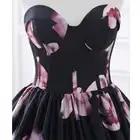 Em Estoque vestido de Noite Longo Vestidos Impresso Floral A Linha Querida Formal Prom Dress For Women Partido Robe De Soirée Foto Real - 5