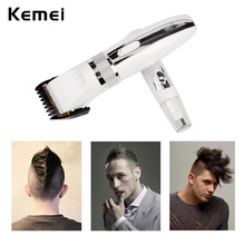 Kemei 2 in 1 Electric Low Noise Hair Clipper & Nose Trimmer Combinations Hair Removal Haircut Styling Tools tondeuse cheveux -48