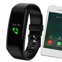 Moniteur de fréquence cardiaque, montre intelligente hommes femmes montre de Fitness étanche de course sportive bracelet de montres intelligentes pour IOS Android