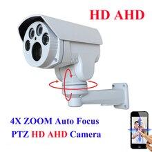 AHD analógica de Alta Definición MINI PTZ Cámara Bullet IR Al Aire Libre Full HD 1080 P 960 P 4X Zoom de Enfoque Automático 2.8-12mm Varifocal 2MP