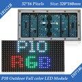 320*160mm 32*16 pixels de 1/4 de digitalização DIP246 P10 RGB Full Color LEVOU Módulo de Exibição Ao Ar Livre
