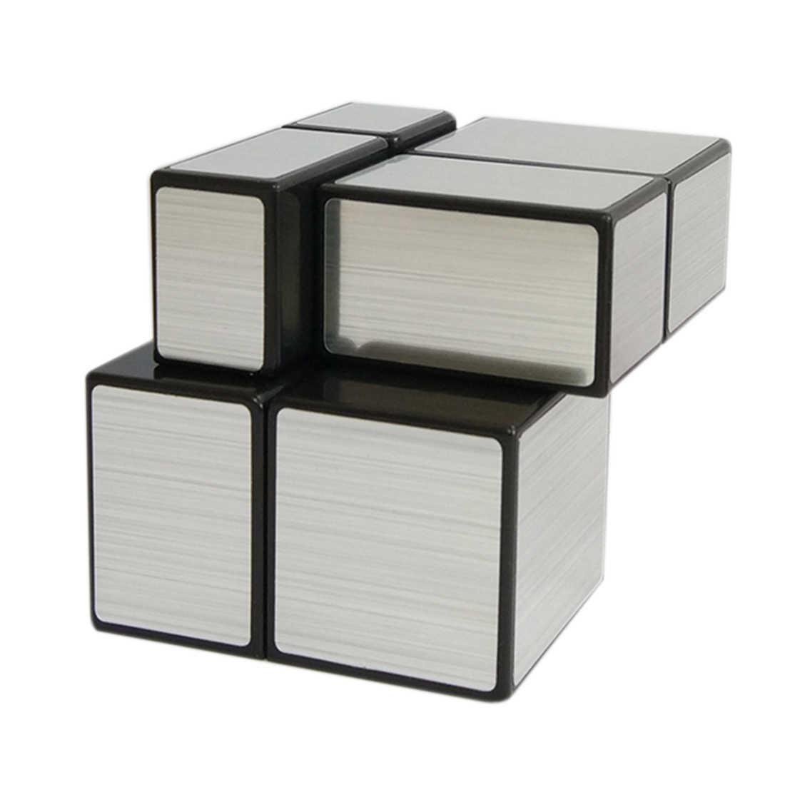 Зеркало 2x2x2 скоростной куб магический куб-черный + серебристый