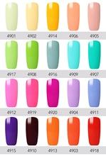 Belen 7ml Light Color Macaron Gel Nail Polish Long-lasting Hybrid Semi Permanent Lacquer UV LED Lamp Lucky Gel ink Gel Varnishes