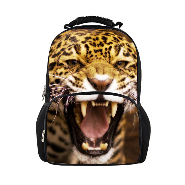 FORUDESIGNS Large Animal Backpack School Children Backpack Women s Panther Bagpack Men s Sea Lion Backpack