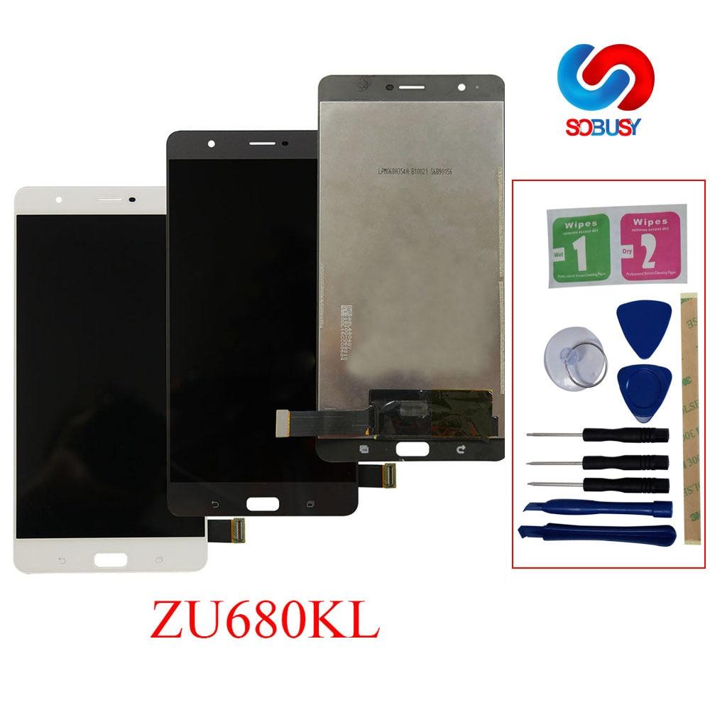 100% Provato il 6.8 di ZU680KL A CRISTALLI LIQUIDI Per Asus Zenfone 3 Ultra ZU680KL Display LCD Pannello Dello Schermo di Tocco Digitizer Assembly di Ricambio parte100% Provato il 6.8 di ZU680KL A CRISTALLI LIQUIDI Per Asus Zenfone 3 Ultra ZU680KL Display LCD Pannello Dello Schermo di Tocco Digitizer Assembly di Ricambio parte