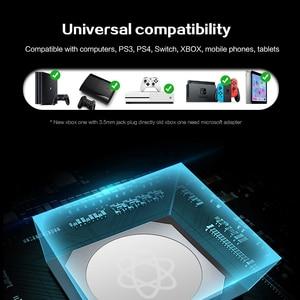 Image 2 - Cuffie da gioco cablate per PS4/cuffie per telefoni cellulari Mic cena Stereo Bass per Sony PlayStation 4 auricolare PS4