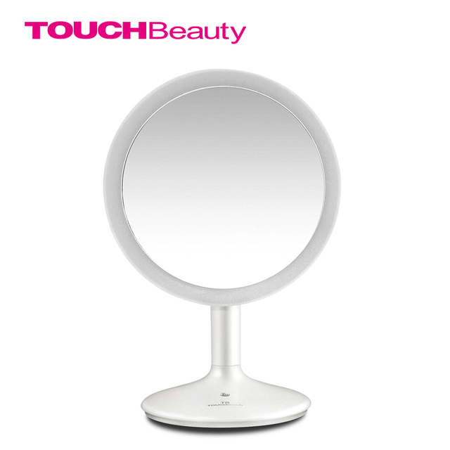 Lighted Vanity Mirror.Us 34 79 40 Off Touchbeauty Personal 5x Lighted Makeup Mirror 90 Degree Swivel Touch Screen Dimmable Lighted Vanity Mirror Rechargeable Tb 1676 In