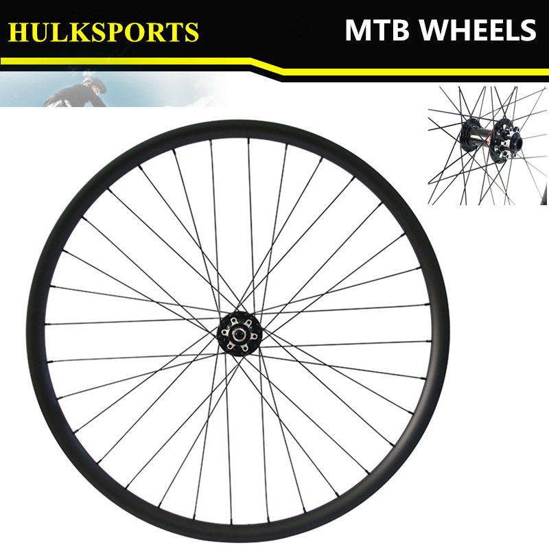 Carbon MTB Wheels 29er Chinese carbon wheels Hookless full carbon fiber Cycling MTB Wheelset Mountain bicycle wheelset light bicycle roda mtb 29 carbon rear wheels