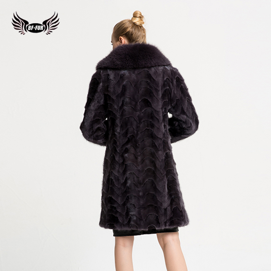 BFFUR Mink Fur Coat Real Value Luxury 2017 New 100% Real Mink Coat ...
