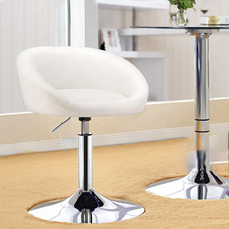 Short Bar Counter Rotating Chair European Style Simple Bar Stool Bar Chair Lift Parlor Small Chair