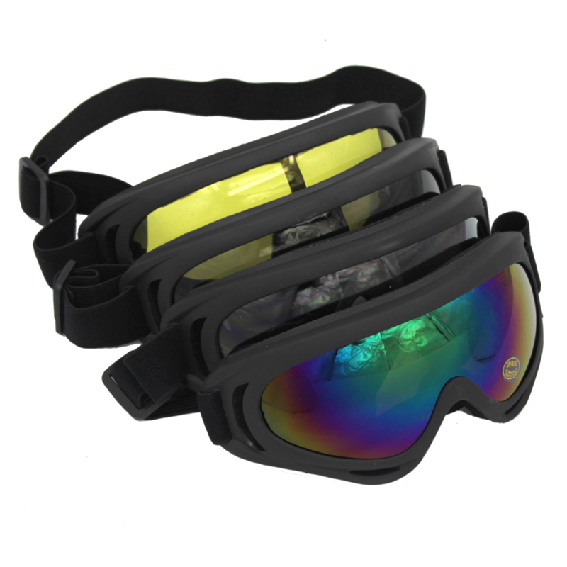 PowerPai X400 Snowboard Ski Goggles TPU Men Women Skiing Eyewear Mask Glasses Snowmobile Motorcycle Motocross equipment winter