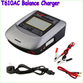 1pcs High Quality T610AC T-Plug Professional Color LCD Touch-Screen 100W AC/DC Balance Charger Free shipping