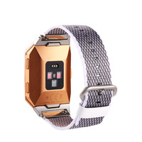 Good sell New Release Sports Royal Woven Nylon Bracelet Strap Band For Fitbit Ionic oct.24