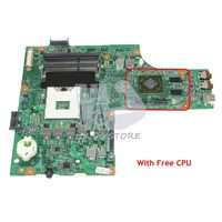 NOKOTION CN 0K2WFF 0K2WFF K2WFF For Dell Inspiron 15R N5010 Laptop Motherboard 48.4HH01.011 HM57 HD4650 Video Card Free CPU