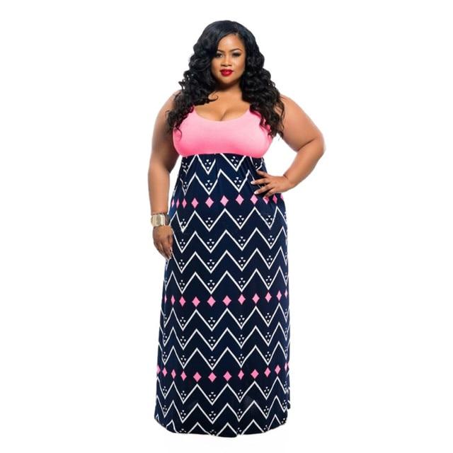 Maxi Length Plus Size Casual Dresses