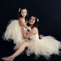 Mother And Me Tutu Dress Mother Daughter Matching Dress Very Full And Fluffy Dress Mother S