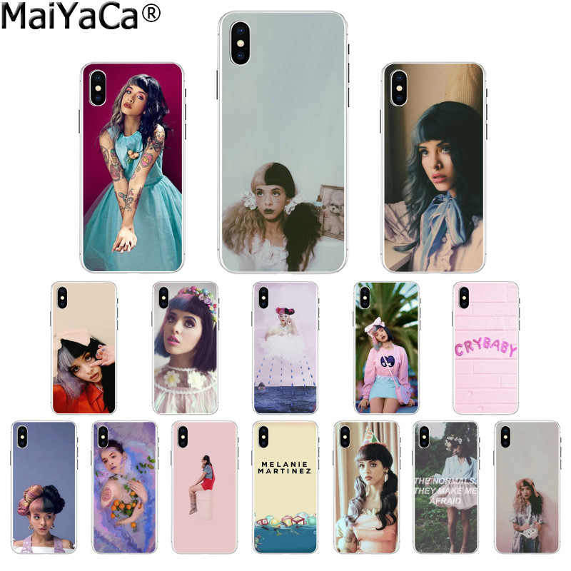 MaiYaCa Unieke Melanie Martinez Cry baby TPU Zachte Siliconen Transparante Telefoon Case voor iPhone 8 7 6 6S Plus 5 5S SE XR X XS MAX