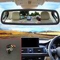Auto Câmera Reversa de Backup + 5 polegada Monitor Espelho Retrovisor Do Carro TFT LCD a Cores de Assistência de Estacionamento Para Peugeot 206 1998 ~ 2010
