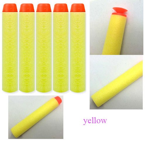eva material pcs soft nerf gun bullet types round head and suction pad for
