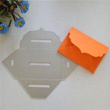 DIY бумажный конверт ручной работы Вырубные штампы для украшения дома металлические Вырубные штампы ремесло рельефное тиснение для скрапбукинга