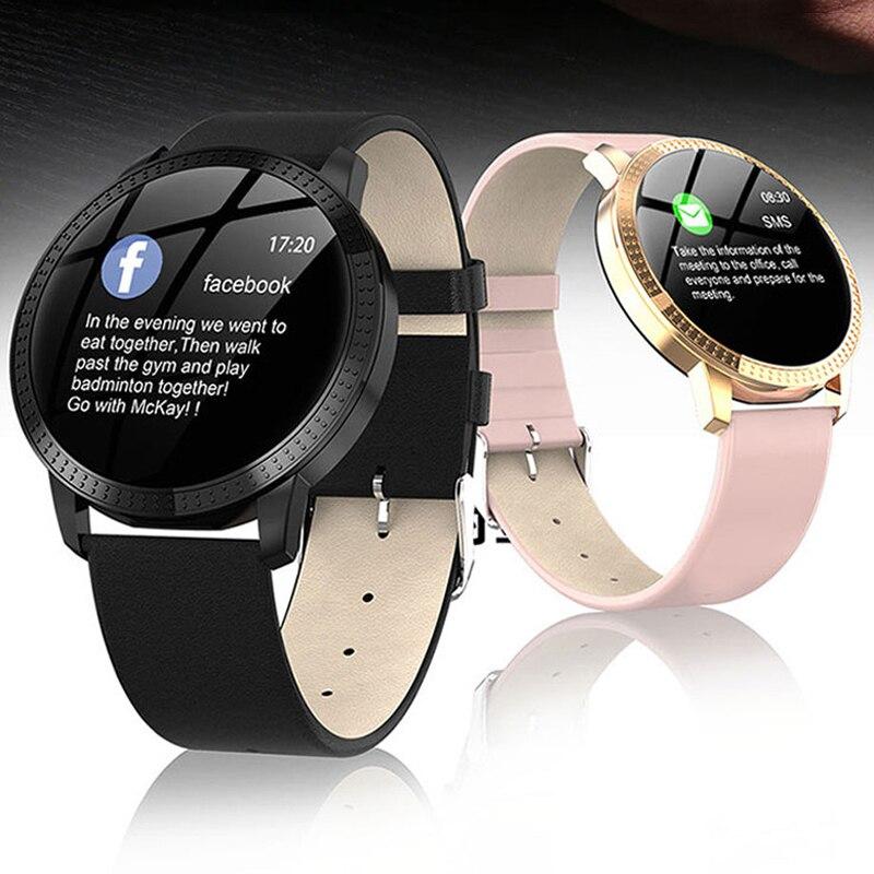 2019 New Multifunction Couple Watch Heart Rate Monitoring Smart Watch Men's Sports Watches Top Brand Woman Watch IP67 Waterproof