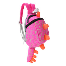 Kids Cartoon School Bags Nylon Cute Dinosaur Backpack Children Kindergarten Schoolbags Plush Toys for Baby Birthday Gift(China)