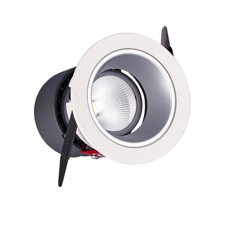SCON AC110-240V 10W Dimmable led COB Spotlight заманауи лобби қабырғалары жууға арналған шам CREE CRI Ra> 93 жоғары деңгейдегі үйірмелерді жарықтандыру